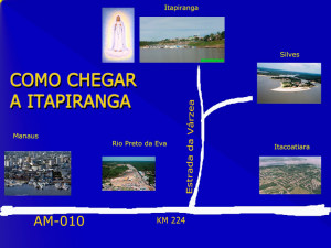 Como chegar a Itapiranga